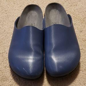 Alpro Birkenstock Blue Mules Size 40 U.S. SIZE 10